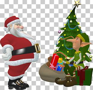 Santa Claus The Elf On The Shelf Christmas Elf Santa's Workshop PNG