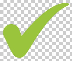 Chroma Key Check Mark Tilde Symbol PNG