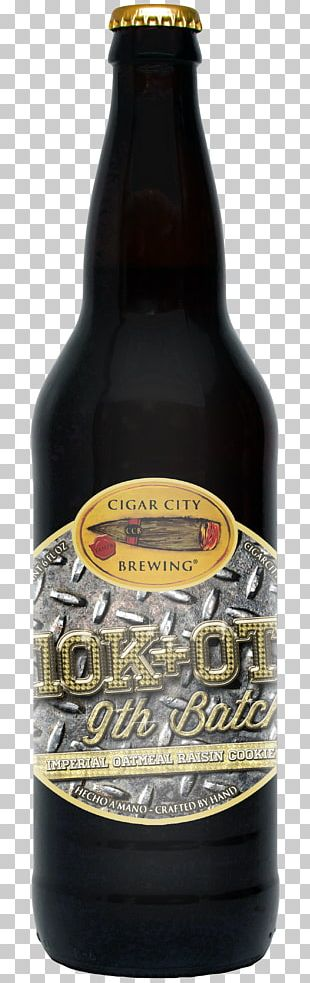 Ale Cigar City Brewing Company Beer Bottle Stout PNG
