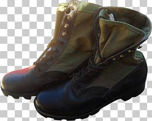 Jungle Boot Shoe Combat Boot Hiking Boot PNG
