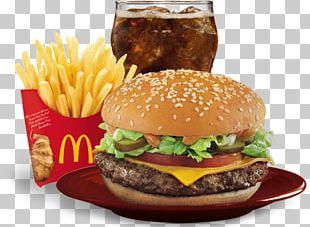 Filet-O-Fish Hamburger Cheeseburger French Fries McDonald's PNG
