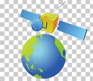 Earth Communications Satellite PNG