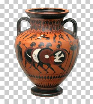 Pottery Of Ancient Greece Greek Vase-painting Black-figure Pottery Greek Pottery PNG