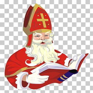 Santa Claus Saint Nicholas Day Christmas Ornament Sinterklaas Child PNG