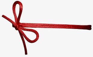 Red Rope Knot PNG