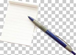 Ballpoint Pen Paper Notebook PNG