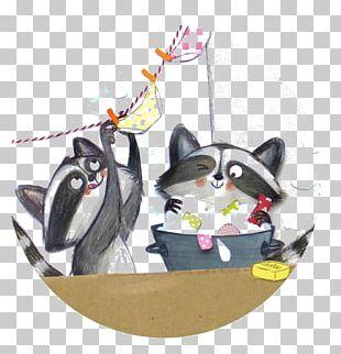 Raccoon Giant Panda Procyonidae Illustration PNG