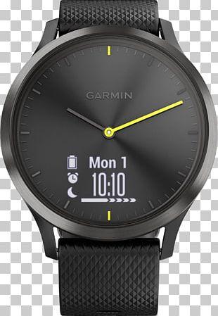 Garmin Vívomove HR Smartwatch Activity Monitors Nokia Steel HR Garmin Ltd. PNG