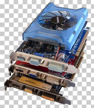 Graphics Cards & Video Adapters Graphics Processing Unit Nvidia Gainward GeForce PNG