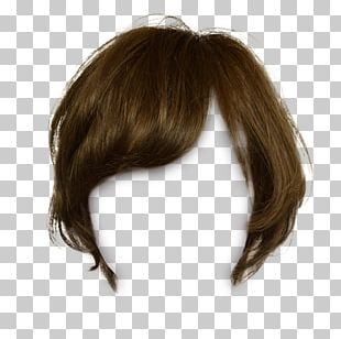 Brown Hair Wig Capelli PNG