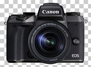 Canon EF-M 18–150mm Lens Canon Eos M5 With 18-150mm Lens Canon EF-M 15–45mm Lens Mirrorless Interchangeable-lens Camera Canon EF-M Lens Mount PNG