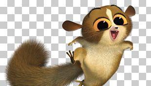 Julien Lemuroidea Mort Madagascar Character PNG