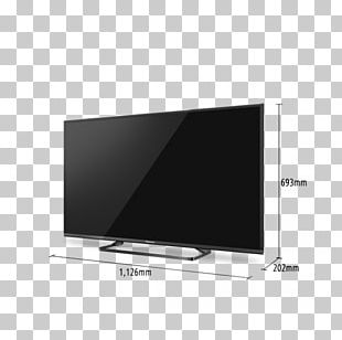 LED-backlit LCD 4K Resolution Panasonic Ultra-high-definition Television PNG