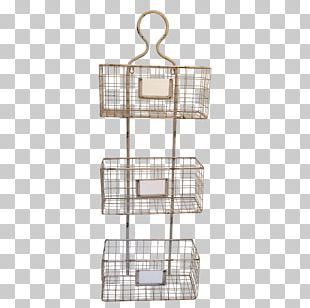 Basket Shabby Chic Furniture Wire Cage PNG