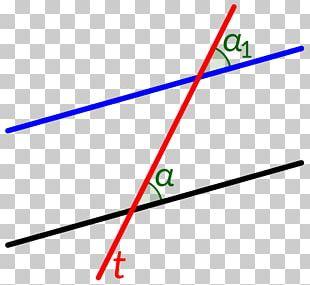 Parallel Transversal Line Angle Mathematics PNG