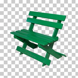 Bench Table Chair Plastic Garden PNG