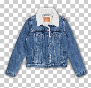 Denim Jacket T-shirt Levi Strauss & Co. PNG