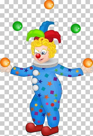 Clown Circus Unicycle PNG