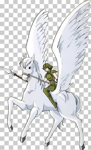 Fire Emblem: Thracia 776 Pegasus Horse Tear Ring Saga Wiki PNG
