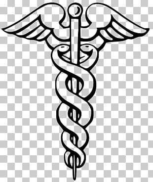 Staff Of Hermes Caduceus As A Symbol Of Medicine Rod Of Asclepius PNG