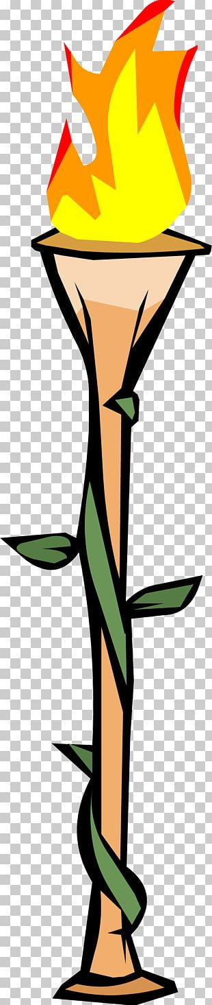 Bamboo Torch PNG