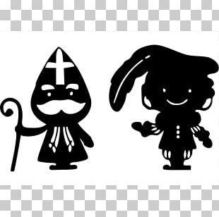 Sinterklaas Zwarte Piet Black And White Easter Bunny Christmas PNG