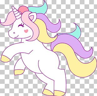 Unicorn Being PNG