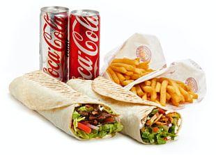 Wrap Fast Food Shawarma Doner Kebab PNG