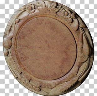 Antique Breadboard Wood Carving Treen PNG
