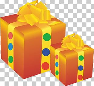 Box Gift Packaging And Labeling Euclidean PNG