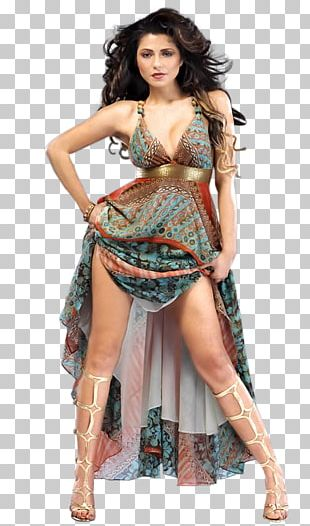 Photo Shoot Supermodel Pin-up Girl Costume PNG