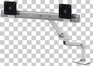 Sit-stand Desk Flat Display Mounting Interface Monitor Mount Computer Monitors PNG