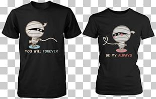 T-shirt Hoodie Top Couple PNG