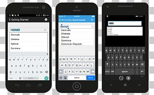 Feature Phone Xamarin Smartphone User Interface Syncfusion PNG