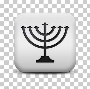 Menorah Judaism Jewish Symbolism Religion PNG