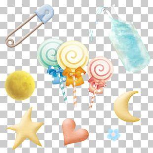Lollipop Bottle Cartoon PNG