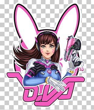 Overwatch D.Va Fan Art Chibi PNG