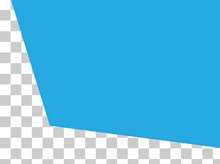 Electric Blue Shape Rectangle Line PNG