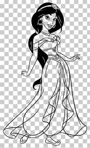 Princess Jasmine Ariel Cartoon Drawing Disney Princess PNG, Clipart