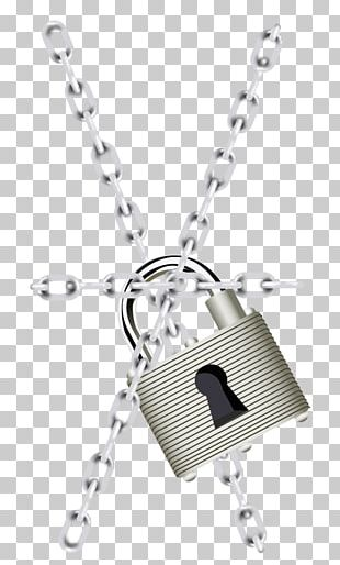 Chain Lock PNG
