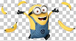 Minion And Bananas PNG