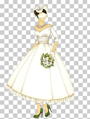 Gown Wedding Dress Bride PNG