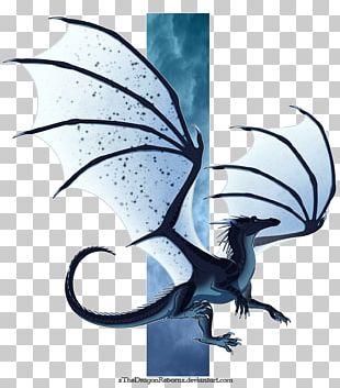 Wings Of Fire Dragon Darkstalker Fan Art PNG