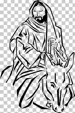 Donkey Palm Sunday Triumphal Entry Into Jerusalem PNG