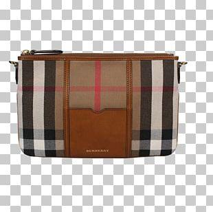 Handbag Burberry Tartan Leather PNG