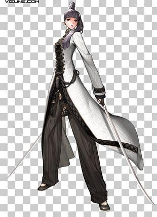 Blade & Soul Concept Art Character Artist PNG