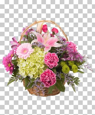 Floral Design Royer's Flowers & Gifts Garden Roses Basket PNG
