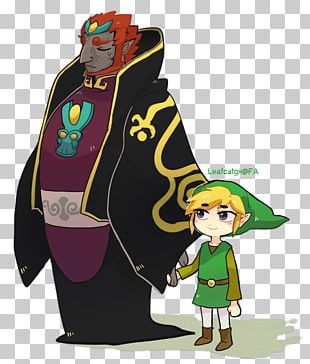 The Legend Of Zelda: The Wind Waker Ganon Link The Legend Of Zelda: Phantom Hourglass Pokémon FireRed And LeafGreen PNG