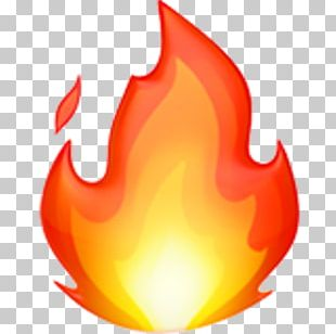 Apple Color Emoji Fire Symbol PNG
