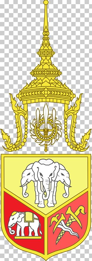 Great Crown Of Victory Emblem Of Thailand PNG